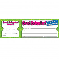 TF-1613 - Good Behavior Ticket Awards in Tickets