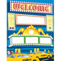 TF-2515 - Big City Welcome Chart in Classroom Theme