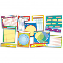 TF-3138 - Graphs Charts & More Instructional Bulletin Board Set in Graphic Organizers