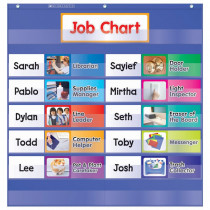 TF-5103 - Class Jobs Pocket Chart Gr K-5 in Pocket Charts