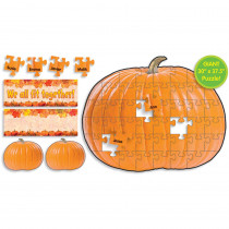 TF-8027 - Pumpkin Puzzle Bulletin Board Set in Holiday/seasonal