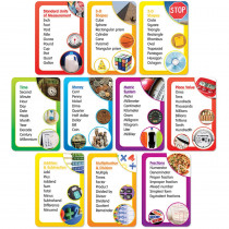 TF-8409 - Math Word Banks Bulletin Board Set in Math