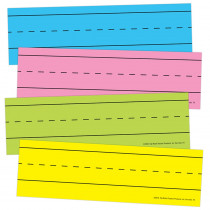 TOP10457 - Magnetic Word Strips Bright Asrtd in Sentence Strips