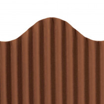 TOP21011 - Corrugated Border Brown in Bordette