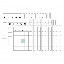 TOP3520 - Blank Bingo Cards in Bingo