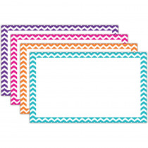 TOP3552 - Border Index Cards 3 X 5 Blank Chevron in Index Cards