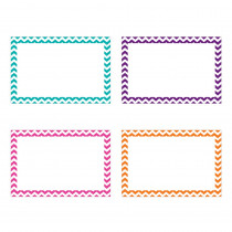 TOP3553 - Border Index Cards 4 X 6 Blank Chevron in Index Cards