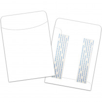 TOP4031 - Brite Pocket White Peel Stick 25 Pk Bright in Organizer Pockets