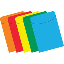 TOP419 - Brite Pockets Primary Box Of 500 Assorted in Library Cards