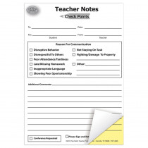 TOP4920 - Check Points Teacher Notes in Progress Notices