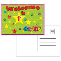 TOP5117 - Postcards Welcome To 1St Grade in Postcards & Pads