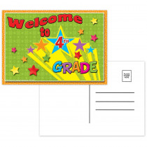 TOP5120 - Postcards Welcome To 4Th Grade in Postcards & Pads