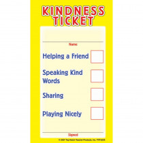 Kindness Tickets, Pack of 32 - TOP5234 | Top Notch Teacher Products | Tickets
