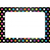 Chalkboard Dots Name Tags/Labels, Pack of 32 - TOP5280 | Top Notch Teacher Products | Name Tags
