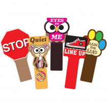 TOP53700 - Handy Signs Set Of All 5 in Classroom Management