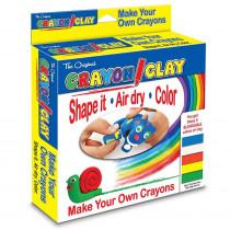 TPG665 - Crayon Clay 250 Grams in Clay & Clay Tools