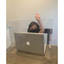 Personal Space Desk Dividers, PreK-Elementary, Clear, Single - TPG986 | The Pencil Grip | Wall Screens