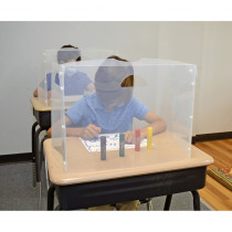 Personal Space Desk Dividers, PreK-Elementary, Frosted, Single - TPG987 | The Pencil Grip | Wall Screens