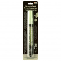 Deco Fabric Glow in the Dark Fabric Marker, Green - UCH222GC | Uchida Of America, Corp | Markers