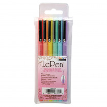 UCH43006P - Lepen Pastel 6 Colors in Pens