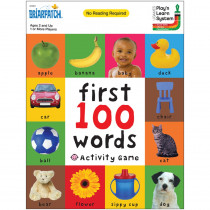 First 100 Words Activity Game - UG-01301 | University Games | Language Arts