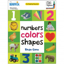 First 100 Numbers Colors Shapes Bingo Game - UG-01302 | University Games | Bingo