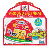 The World of Eric Carle Around the Farm 2-Sided Floor Puzzle - UG-33837 | University Games | Floor Puzzles