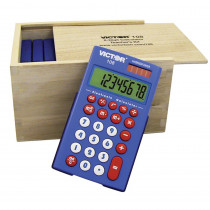 VCT108TK - Victor 108 Teachers Kit Of 10 in Calculators