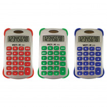 VCT910 - Colorful 8 Digit Handheld Calculator in Calculators