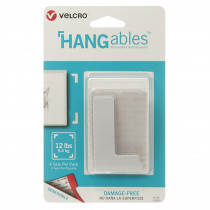 VEC95182 - Hangables 3In X 1-3/4In Corners 4Ct in Velcro