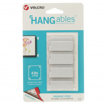 VEC95185 - Hangables 1-3/4In X 3/4In Strps 8Ct in Velcro