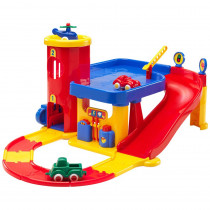 City Garage with Road Set - VKT5556 | Viking Usa Llc | Toys