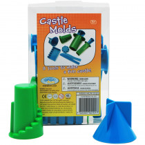 WAB192101 - Castle Mold Set in Sand & Water