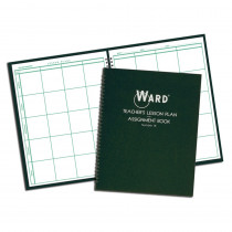 WAR18 - Teacher Plan Book 8 Period in Plan & Record Books