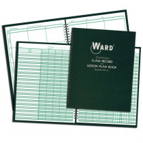 WAR91016 - Class Record & Lesson Plan Combo Books in Plan & Record Books