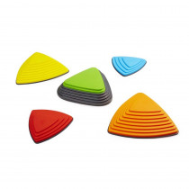Bouncing River Stone Set, Set of 5 - WING2130 | Winther | Balance Beams