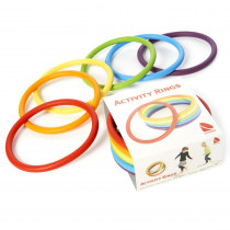 Activity Rings, Set of 6 - WING2190 | Winther | Bean Bags & Tossing Activities
