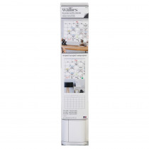 """Dry Erase Monthly Wall Calendar, 25 x 38"""" - WLE16204 