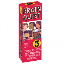 WP-16655 - Brain Quest Gr 5 in Games & Activities