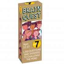 WP-16657 - Brain Quest Gr 7 in Games & Activities