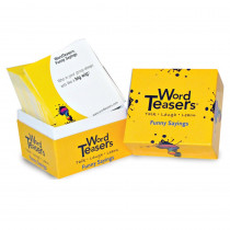 WT-7212 - Wordteasers Flash Cards Funny Sayings in Language Skills