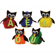 WZ-147 - Monkey Mitt Set Vowel Owls in Puppets & Puppet Theaters
