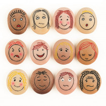 YUS1021 - Emotion Stones Set Of 12 in Auditory/visual Stimulation