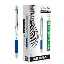 Flight Retractable Ballpoint Pens, Blue, Dozen - ZEB21920 | Zebra Pen Corporation | Pens