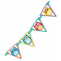 Colorful Owls Bunting