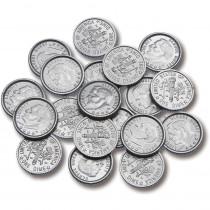 CTU7523 - Plastic Coins 100 Dimes in Money