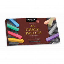 48Ct Assorted Color Atrists Chalk Pastels Lif Lid Box - SAR224148