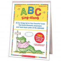 SC-0439784395 - Abc Sing Along Flip Chart & Cd in Language Arts