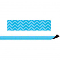 Aqua Chevron Magnetic Border - TCR77125