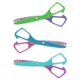 "Economy Plastic Safety Scissor, 5-1/2"" Blunt, Colors Vary"